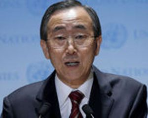 Ban Ki Moon: The sides have made some encouraging progress