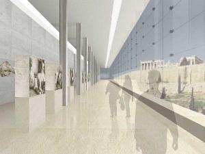 Το μουσείο και τα μάρμαρα