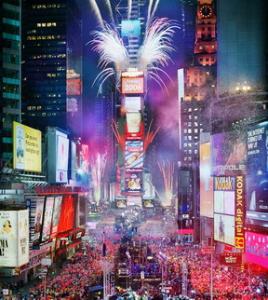 Σχεδόν 1 εκατ. άνθρωποι παρακολούθησαν την ανατολή του 2010 στην Times Square