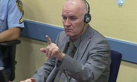 Mladic in Hague