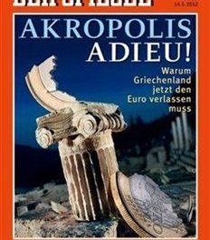 Το γερμανικό Spiegel αποχαιρετά την Ελλάδα από την Ευρωζώνη
