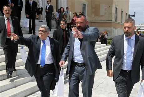 Golden Dawn's gains in EU election signal failure of Greece's crackdown