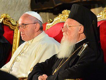 Κοινή διακήρυξη -ψήφισμα Οικουμενικού Πατριάρχη Βαρθολομαίου & Πάπα Φραγκίσκου