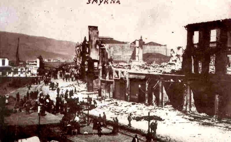 Το προσχεδιασμένο έγκλημα της καταστροφής της Σμύρνης
