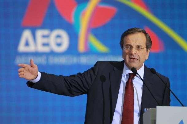 """Α. Σαμαράς. Η Ελλάδα είναι όρθια. Βάζουμε τα θεμέλεια για την Νέα Ελλάδα"""""""