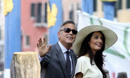 Amal Alamuddin Clooney gets back to work in Greece