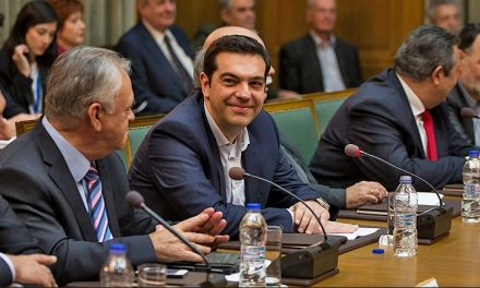 Greece prepares reform plans but cracks appear in Syriza party