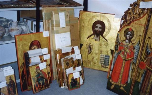 Κύπρος: Επαναπατρισμός βυζαντινών κειμηλίων από εκκλησίες των κατεχομένων περιοχών