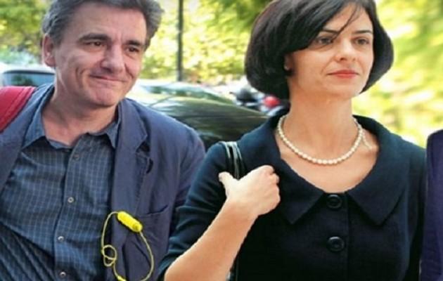 Τσακαλώτος-Βελκουλέσκου: Συνάντηση στο πλαίσιο της έκθεσης ΔΝΤ για την Ελλάδα