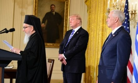 Δημήτριος Αμερικής: Προσευχόμαστε και προσδοκούμε με ευγνωμοσύνη τη στήριξη των ΗΠΑ