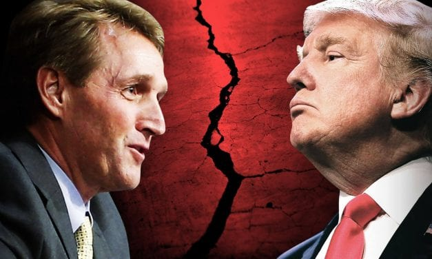 The GOP war after Jeff Flake denounced Trump