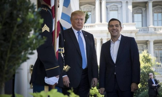 Tsipras trip to America: paying homage to the planetary boss