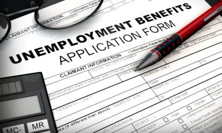 A new decrease in the number of American workers receiving unemployment benefits