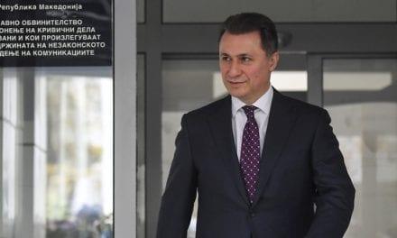 Gruevski Races Against Time to Avoid Macedonian Jail