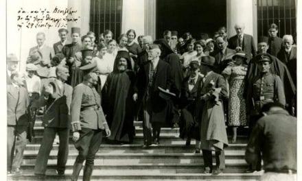Η επίσκεψη του Ελευθέριου Βενιζέλου στην Χάλκη