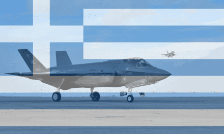 Greece Contemplates F-35 Acquisition to Replace Oldest F-16s