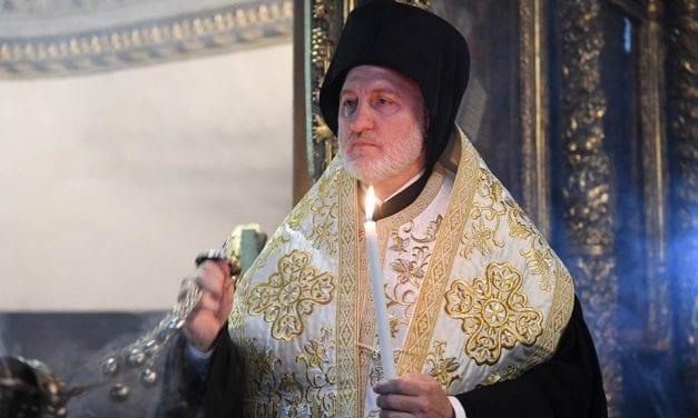 Αρχ. Ελπιδοφόρος: Σκοπός η αποκατάσταση της Αρχιεπισκοπής