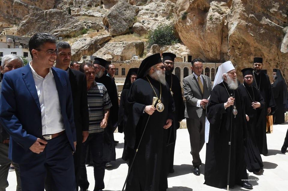 Επίσημη επίσκεψη του Πατριάρχη Σερβίας στο Πατριαρχείο Αντιοχείας.