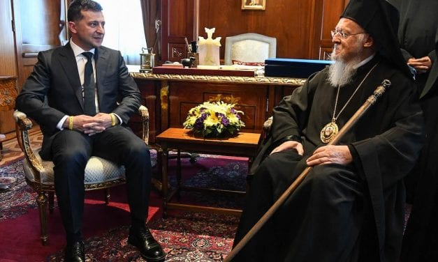 Στο Οικουμενικό Πατριαρχείο ο Πρόεδρος της Ουκρανίας
