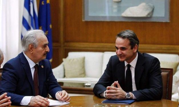 Turkey slams Greece for hosting Libya's Haftar